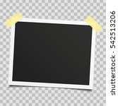 old  vintage photo frame with...   Shutterstock .eps vector #542513206