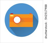 camera icon | Shutterstock .eps vector #542517988
