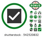 check icon with bonus images....