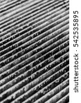 rustic grungy grate texture in... | Shutterstock . vector #542535895