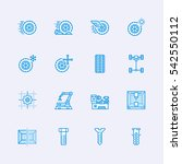 mechanics icons   Shutterstock .eps vector #542550112