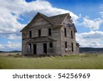 Rural Abandoned Homestead In A...