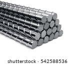 reinforcement bars stack... | Shutterstock . vector #542588536
