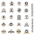 set of vintage gentleman...   Shutterstock .eps vector #542633395