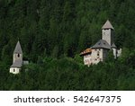 neuhaus castle  alto adige near ... | Shutterstock . vector #542647375