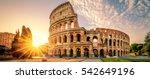 Colosseum In Rome At Sunrise ...
