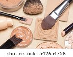 foundation  powder  concealer... | Shutterstock . vector #542654758