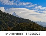 the top of the hill macha... | Shutterstock . vector #54266023