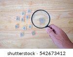 human resource management... | Shutterstock . vector #542673412