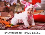 Cute Young Toddler Girl Wearing ...