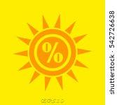 sun  symbol  vector...