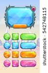 crystal game user interface...