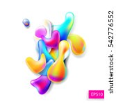 abstract bright colorful plasma ...   Shutterstock .eps vector #542776552
