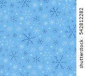 raster illustration. winter... | Shutterstock . vector #542812282