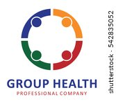 health group logo | Shutterstock .eps vector #542835052