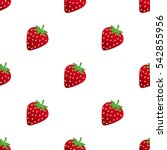 seamless pattern with... | Shutterstock .eps vector #542855956