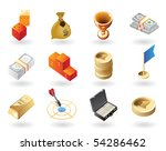 high detailed realistic vector... | Shutterstock .eps vector #54286462