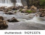 a waterfall in missouri with a... | Shutterstock . vector #542913376