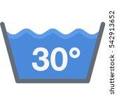 water temperature icon | Shutterstock .eps vector #542913652