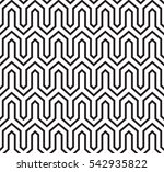geometric squares seamless... | Shutterstock .eps vector #542935822