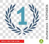 vector first laurel wreath eps... | Shutterstock .eps vector #542936836