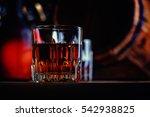 glass of whiskey  | Shutterstock . vector #542938825