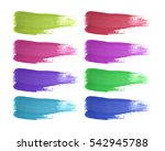 shape of different color... | Shutterstock . vector #542945788
