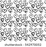 hearts  pattern | Shutterstock . vector #542970052