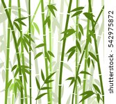 chinese or japanese bamboo... | Shutterstock .eps vector #542975872