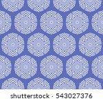 blue color decorative seamless...