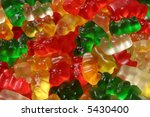 gummi bears | Shutterstock . vector #5430400