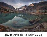 Blue Muddy Water Lake Surrounded - Fine Art prints