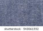 blue denim textile macro photo. ... | Shutterstock . vector #543061552