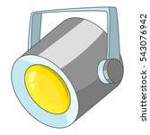 floodlight icon. cartoon... | Shutterstock .eps vector #543076942