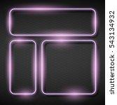 illustration of  shining square ... | Shutterstock .eps vector #543134932