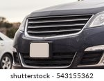 grey vehicle car hood vent and... | Shutterstock . vector #543155362