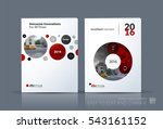 business vector. brochure... | Shutterstock .eps vector #543161152
