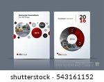 business vector. brochure... | Shutterstock .eps vector #543161152