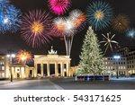 Brandenburg Gate In Berlin ...