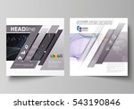 business templates for square... | Shutterstock .eps vector #543190846