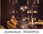 modern furniture with equipment ... | Shutterstock . vector #543204916