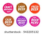 vector set colorful labels for... | Shutterstock .eps vector #543205132
