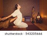 serene girl enjoying thai...   Shutterstock . vector #543205666