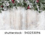 christmas and new year... | Shutterstock . vector #543253096