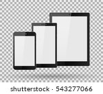 vector tablet computer and... | Shutterstock .eps vector #543277066