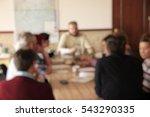 meeting. blurred background | Shutterstock . vector #543290335