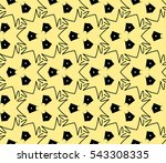 abstract seamless pattern.... | Shutterstock .eps vector #543308335