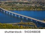 bridge crossing columbia river...   Shutterstock . vector #543348838