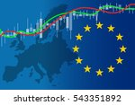 economy europe financial growth ... | Shutterstock .eps vector #543351892