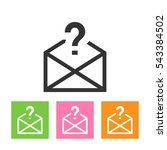 unknown mail envelope icon in...
